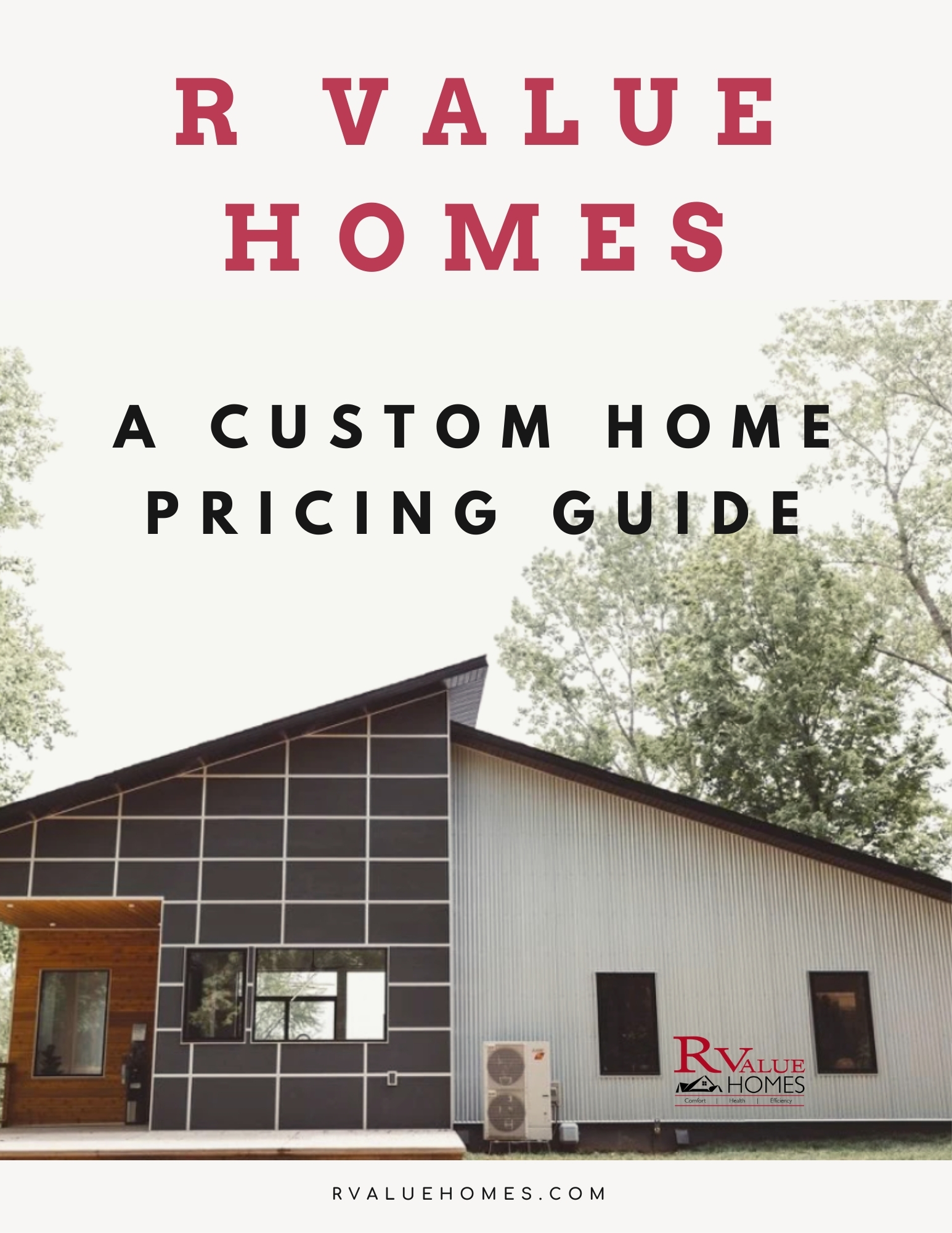 Michigan Building a Custom Home Pricing Guide Ebook RValue Homes